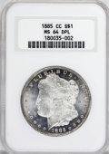 1885-CC $1 MS64 Deep Mirror Prooflike NGC....(PCGS# 97161)