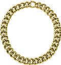 Estate Jewelry:Necklaces, Gold Necklace. The 18k yellow gold large curb link chain isenhanced by a high polish finish, completed by a spring clasp....(Total: 1 Item)