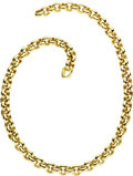 Estate Jewelry:Necklaces, Gold Necklace. The 14k yellow gold link necklace is completed by asnap closure. Made in Germany. Gross weight 152.20 gram... (Total:1 Item)