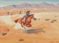 Fine Art - Work on Paper:Watercolor, Leonard Howard Reedy (American, 1899-1956)P...