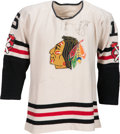 Hockey Collectibles:Uniforms, 1958-59 Bobby Hull Game Worn Chicago Blackhawks Jersey.. ...