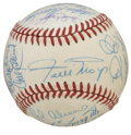 Autographs:Baseballs, 1987 New York Mets Old Timers Day Multi-Signed Baseball. A total of21 top-notch autographs appear on the provided ONL (Fe...