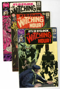 Bronze Age (1970-1979):Horror, The Witching Hour Group (DC, 1970-75) Condition: Average VG/FN.... (Total: 10 Comic Books)
