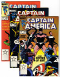 Modern Age (1980-Present):Superhero, Captain America Group (Marvel, 1977-91) Condition: Average NM+....(Total: 79 Comic Books)