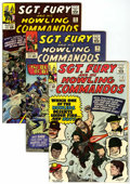 Silver Age (1956-1969):War, Sgt. Fury and His Howling Commandos #12, 14, and 15. Group (Marvel, 1964-65) Condition: Average VF-.... (Total: 3 Comic Books)