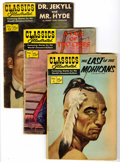 Silver Age (1956-1969):Classics Illustrated, Classics Illustrated Group (Gilberton, 1960-65) Condition: Average VG-.... (Total: 8 Comic Books)