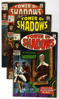 Silver Age (1956-1969):Horror, Tower of Shadows Group (Marvel, 1969-70) Condition: Average VG....(Total: 6 Comic Books)