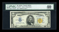 Small Size:World War II Emergency Notes, Fr. 2307* $5 1934A North Africa Silver Certificate. PMG Extremely Fine 40.. ...
