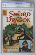 Silver Age (1956-1969):Adventure, Four Color #1118 The Sword and the Dragon - File Copy (Dell, 1960) CGC NM 9.4 Cream to off-white pages....