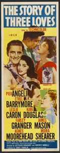 """Movie Posters:Romance, The Story of Three Loves (MGM, 1953). Insert (14"""" X 36""""). Romance...."""