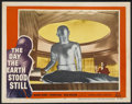 "Movie Posters:Science Fiction, The Day the Earth Stood Still (20th Century Fox, 1951). Lobby Card(11"" X 14""). Science Fiction...."