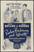 "Movie Posters:Short Subject, Parlor, Bedroom and Wrath (Columbia, 1948). One Sheet (27"" X 41"").Short Subject...."