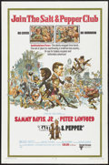 """Movie Posters:Comedy, Salt and Pepper (United Artists, 1968). One Sheet (27"""" X 41""""). Comedy...."""