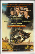 "Movie Posters:Western, Once Upon A Time in the West (Paramount, 1969). One Sheet (27"" X41""). Western...."
