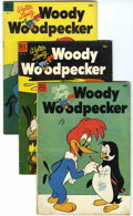 Golden Age (1938-1955):Cartoon Character, Woody Woodpecker Group (Dell, 1953-62) Condition: Average VG....