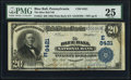 National Bank Notes:Pennsylvania, Blue Ball, PA - $20 1902 Plain Back Fr. 652 The Blue Ball NB Ch. #(E)8421. ...