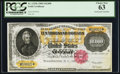Large Size:Gold Certificates, Fr. 1225h $10,000 1900 Gold Certificate PCGS Choice New 63.. ...