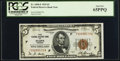 Small Size:Federal Reserve Bank Notes, Fr. 1850-F $5 1929 Federal Reserve Bank Note. PCGS Gem New 65PPQ.. ...