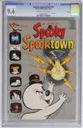 Bronze Age (1970-1979):Cartoon Character, Spooky Spooktown #37 File Copy (Harvey, 1970) CGC NM+ 9.6 Cream tooff-white pages....