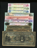 World Currency: , Nicaragua.. ... (Total: 10 notes)