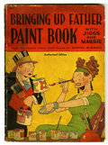 Memorabilia:Comic-Related, Bringing Up Father Paint Book #663 (Whitman, 1942) Condition: FR/GD....