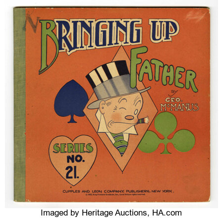 Bringing Up Father #21 (Cupples & Leon, 1932) Condition: FN....