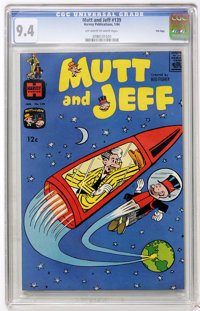 Mutt and Jeff #139 File Copy (Harvey, 1964) CGC NM 9.4 Off-white to white pages