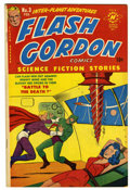 Golden Age (1938-1955):Science Fiction, Flash Gordon #3 (Harvey, 1951) Condition: VF-....
