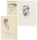 Fine Art - Painting, American, GUY PÈNE DU BOIS (American 1884-1958). Group of Three Drawings, circa 1919. Various dimensions. ... (Total: 3 Items)