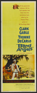 "Movie Posters:Drama, Band of Angels (Warner Brothers, 1957). Insert (14"" X 36""). Drama...."