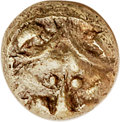 Ancients:Greek, Ancients: CARIA. Mylasa. Ca. mid-6th century BC. EL 48th stater(5mm, 0.28 gm, 6h). NGC (photo certificate) AU 4/5 - 4/5....