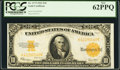 Large Size:Gold Certificates, Fr. 1173 $10 1922 Gold Certificate PCGS New 62PPQ.. ...