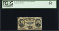 Fractional Currency:Third Issue, Fr. 1274SP 15¢ Third Issue Narrow Margin Face PCGS New 60.. ...
