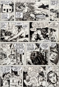 Original Comic Art:Panel Pages, Barry Windsor-Smith, Sal Buscema, Dan Adkins, and Chic StoneConan the Barbarian #23 Story Page 8 Original Art (Ma...
