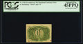 Fractional Currency:Second Issue, Milton 2R10.3d Fr. 1246 10¢ Second Issue Inverted Back PCGS Extremely Fine 45PPQ.. ...