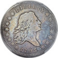 Early Half Dollars, 1795 50C 2 Leaves, O-106, T-30, R.6, Fine 12 PCGS....