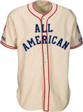 "Baseball Collectibles:Uniforms, 1945 Babe Ruth Game Worn Coaching Uniform from Esquire Magazine ""All-America Game"" -- Photo Matched!. ..."