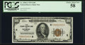 Fr. 1890-E $100 1929 Federal Reserve Bank Note. PCGS Choice About New 58