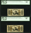 Fractional Currency:Third Issue, Set of 50¢ Third Issue Fiber Paper Justice's PCGS Graded.. ... (Total: 4 notes)