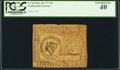 Colonial Notes:Continental Congress Issues, Continental Currency May 20, 1777 $8 PCGS Extremely Fine 4...