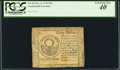 Colonial Notes:Continental Congress Issues, Continental Currency November 2, 1776 $30 PCGS Extremely Fine 40.....