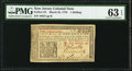 Colonial Notes:New Jersey, New Jersey March 25, 1776 1s PMG Choice Uncirculated 63 EPQ.. ...