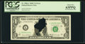 Error Notes:Printed Tears, Fr. 1906-L $1 1969C Federal Reserve Note. PCGS Choice New 63PPQ.....