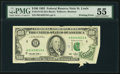 Error Notes:Printed Tears, Fr. 2174-H $100 1993 Federal Reserve Note. PMG About Uncir...