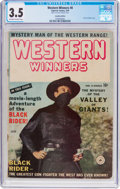 Golden Age (1938-1955):Western, Western Winners #8 Canadian Edition (Superior Comics, 1950) CGC VG-3.5 Off-white to white pages....