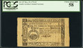 Colonial Notes:South Carolina, South Carolina December 23, 1776 $3 PCGS Choice About New 58.. ...
