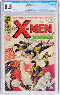 Silver Age (1956-1969):Superhero, X-Men #1 (Marvel, 1963) CGC VF+ 8.5 Off-white pages....