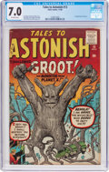 Silver Age (1956-1969):Science Fiction, Tales to Astonish #13 (Marvel, 1960) CGC FN/VF 7.0 Off-white pages....