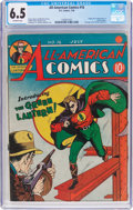 Golden Age (1938-1955):Superhero, All-American Comics #16 (DC, 1940) CGC FN+ 6.5 Off-white pages....