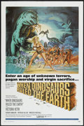 "Movie Posters:Fantasy, When Dinosaurs Ruled the Earth (Warner Brothers, 1970). One Sheet(27"" X 41""). Fantasy...."